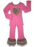 """Костюм """"Розовый леопард""""(бутик Ann Loren)"""