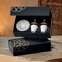 Фарфоровый кофейный набор OKKALI