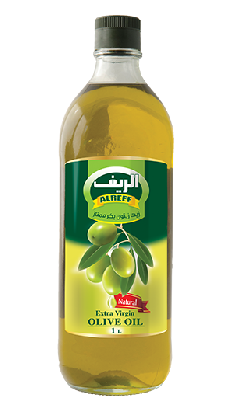 Масло оливковое Сирия AlReef 1 литр стекло