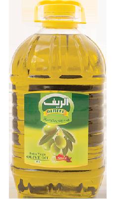 Масло оливковое Сирия AlReef 4 литра