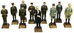 10 фигурок Ататюрка и его друзей