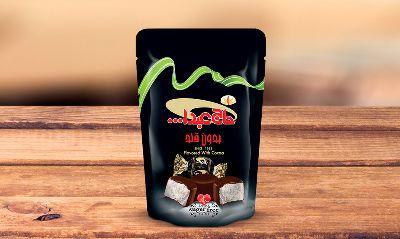 Конфеты из пашмалы со вкусом ванили с заменителем сахара в шоколадной глазури 500 гр