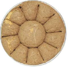 Халва кунжутная с какао поднос 3-5 кг