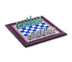 Подарочный шахматный набор из фарфора Kütahya Porselen