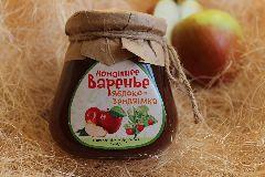 Варенье яблоко земляника 340 гр