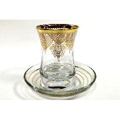 Армуды турецкие чайные с золотым узором