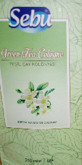 Колонья (kolonya) с ароматом зеленого чая 200 гр