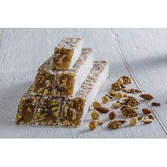 Лукум ореховый микс: миндаль, грецкий орех, фундук, фисташка 1 кг