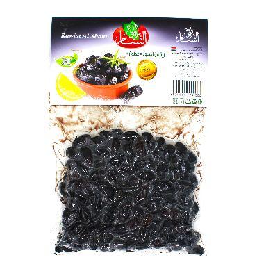 Маслины черные Rawiat Al Sham, 500 гр в вакууме
