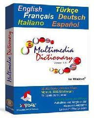 Turkce, English, Francais, Italiano, Deutsch, Espanol / Multimedia Dictionary