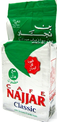 Ливанский кофе с кардамоном NAJJAR 200 гр