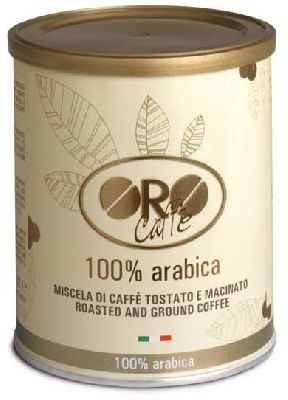 Кофе молотый ORO Caffe' 100% Arabica 250 гр