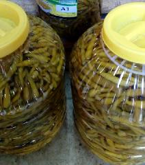 Перцы маринованные острые длинные 5 кг