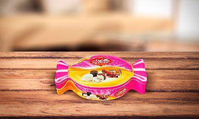 Пашмала с молочным вкусом в белой глазури и вкусом ванили в шоколадной глазури 450 гр