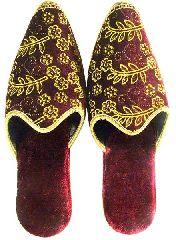 Purple Slippers - Ottoman Style (Carik)