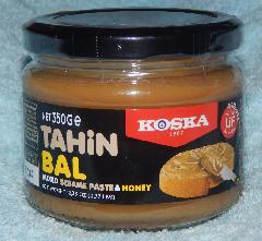 Тахинная паста и мед 350 гр