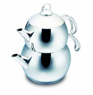 Турецкий двойной чайник 2 л + 1,1 л