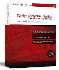 Карта дорог Турции, Географический атлас Турции / Turkiye Karayolari Haritasi