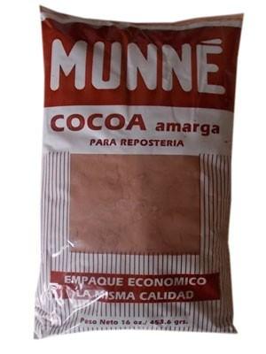 Какао доминиканский MUNNE c сахаром, пакет 454 гр