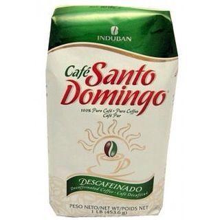 Кофе молотый Santo Domingo (Санто Доминго) без кофеина 0.454 кг