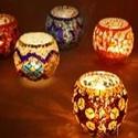 Восточные мозаичные светильники