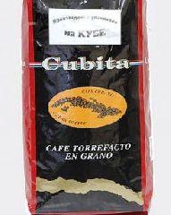Кофе Кубита в Зернах обжаренный в сахаре (Cafe Cubita Torrefacto en Grano) 1000 гр