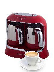 Электрическая кофеварка Korkmaz Kahvekolik Twin 560 мл
