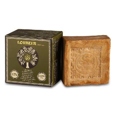 Традиционное мыло из Алеппо 12 % лавра