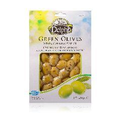 Оливки с косточкой маринованные, с оливковым маслом, DELPHI 250г