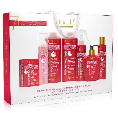 Thalia Golden Way 7in1 набор личной гигиены на основе масла японского цветка Цубаки