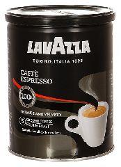 КОФЕ МОЛОТЫЙ LAVАZZA CAFFE ESPRESSO 250 ГР. (Ж.Б.)