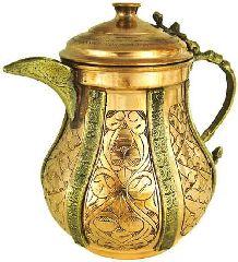 Медный чайник ручной работы