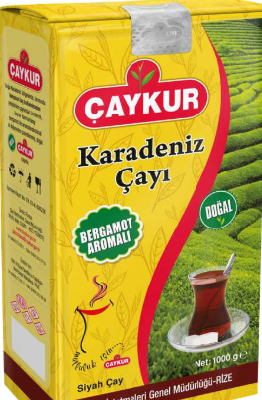 чай черный Karadeniz Caykur 1 кг Earl Grey