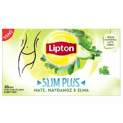 FORM Чай SLIM PLUS микс трав с мята-петрушкой и с яблоком  LIPTON