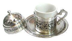 Медный набор для турецкого кофе (на одну персону)