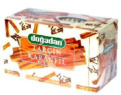 Чай Dogadan с гвоздикой и корицей (Karanfil ve Tarcin)