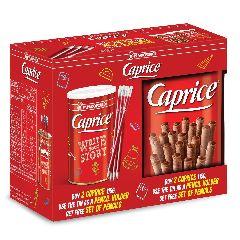 Вафли венские с фундуком и шоколадным кремом CAPRICE 2x115г + карандаши