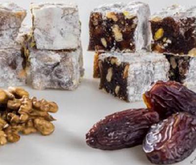 Лукум микс: кокос, арабская хурма, орех, финики