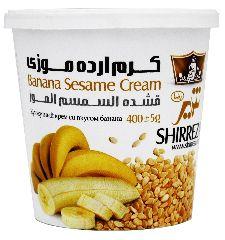 Кунжутный крем с бананом Shirreza 400 г