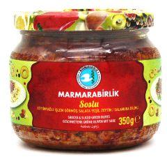 Соус из зеленых оливок со специями Marmarabirlik 350гр