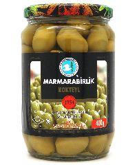 Оливки зеленые 4 XL  Мармарабирлик 400 г
