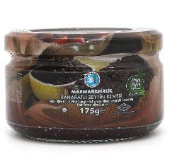 Оливковая паста черная без специй Marmarabirlik 175 г