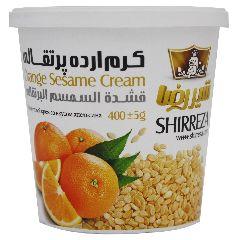 Кунжутный крем с апельсином Shirreza 400 г