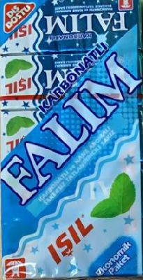 Жевательная резинка Falim со вкусом карбоната и мяты
