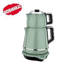 Электрический двойной чайник Korkmaz