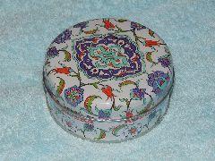 Лукум ореховый микс 120 гр подарочная упаковка (жесть)