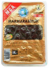 Оливки (маслины) черные MEGA 500 гр