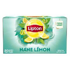 Мятно-лимонный чай 20 пакетиков LIPTON