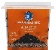Маслины Sepet Serisi вяленые 3XS, Marmarabirlik, 400 г