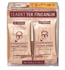 Турецкий кофе молотый Mehmet Efendi, 12x6 г